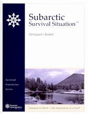 Subarctic Survival Situation: Participant's Booklet.