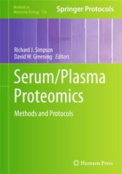 Serum/Plasma Proteomics: Methods and Protocols