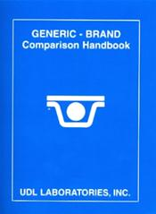 Generic Brand Comparison Handbook 2011