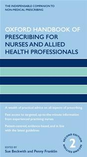 Oxford Handbook of Prescribing for Nurses and Allied Health Professionals Image