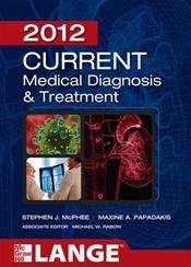 Current Medical Diagnosis and Treatment 2012