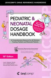 Pediatric and Neonatal Dosage Handbook Cover Image