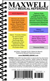 Maxwell Quick Medical Reference Image