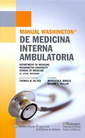 Manual Washington de Medicina Interna Ambulatoria (Washington Manual of Outpatient Internal Medicine) Image