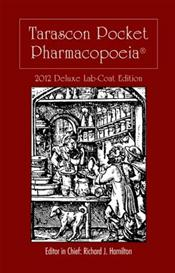 Tarascon Pocket Pharmacopoeia 2012. Deluxe Lab-Coat Pocket Edition
