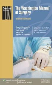 Washington Manual of Surgery Image