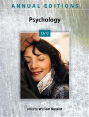 Annual Editions: Psychology 2012/2013 Cover Image