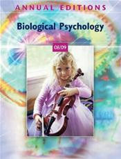 Annual Editions: Biological Psychology 2008/2009 Cover Image