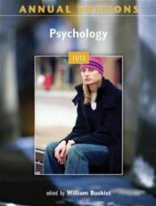 Annual Editions: Psychology 2011/2012 Cover Image