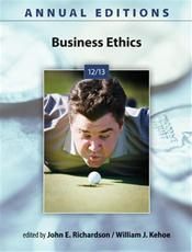 Annual Editions: Business Ethics 2012/2013 Cover Image