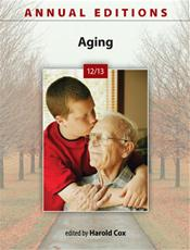 Annual Editions: Aging 2012/2013 Cover Image