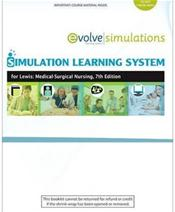 Simulation Learning System for Lewis: Medical-Surgical Nursing. Access Code Image