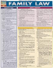 Family Law Laminated Reference Chart