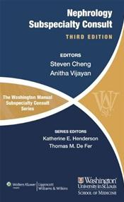 Washington Manual of Nephrology Subspecialty Consult Image