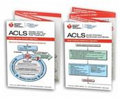 Advanced Cardiovascular Life Support (ACLS) Pocket Reference Card Set. Package of 2