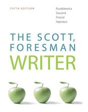 Scott, Foresman Writer Valuepak. Includes Textbook and Internet Access Code for Student MyCompLab