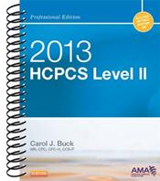 HCPCS 2013: Level II Professional Edition. Includes Netter's Anatomy Art