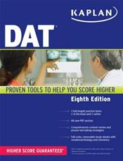 Kaplan DAT (Dental Admission Test): Comprehensive Review, Practice, and Strategies