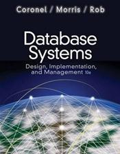 Database Systems: Design, Implementation, and Management. Text with Access Code