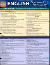 English Grammar & Punctuation Laminated Reference Chart