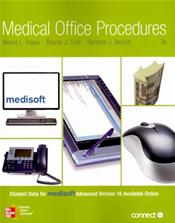 Medical Office Procedures/Electronic Health Records Combo. Text plus Allied Health Records Access Card Image