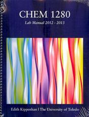 ACP University of Toledo Chem 1280 Lab Manual 2012-2013