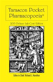 Tarascon Pocket Pharmacopoeia 2013. Deluxe Lab-Coat Pocket Edition