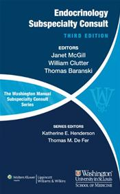 Washington Manual of Endocrinology Subspecialty Consult Image