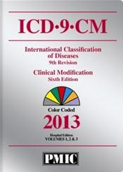 Coder's Choice ICD-9-CM 2013 Hospital Edition. Color Coded. Volumes 1, 2, and 3 in 1 Book