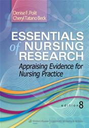 Essentials of Nursing Research: Appraising Evidence for Nursing Practice. Text with Access Code for thePoint
