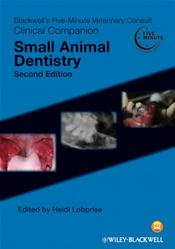 Five-Minute Veterinary Consult Clinical Companion: Small Animal Dentistry Cover Image