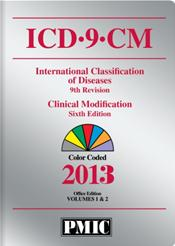ICD-9-CM 2013 Coder's Choice. Two Volumes in One. Office Edition. Color Coded. Text with CD-ROM for Windows and Macintosh