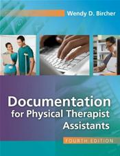Documentation for Physical Therapist Assistant