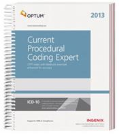 Current Procedural Coding Expert 2013: CPT Codes with Medicare Essentials Enhanced for Accuracy
