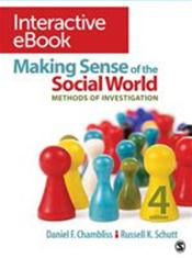 Making Sense of the Social World Interactive: Methods of Investigation eBook. Access Code