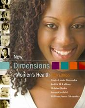 New Dimensions in Womens Health. Includes 2010 Dietary Guidelines Supplement. Cover Image
