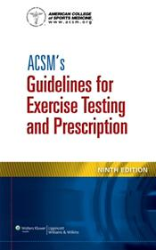 ACSMs Guidelines for Exercise Testing and Prescription. Text with Access Code Cover Image