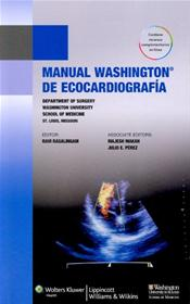 Manual Washington de ecocardiografia (Washington Manual of Echocardiography). Text with Access Code Image