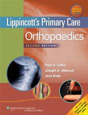 Lippincott's Primary Care: Orthopaedics. Text with Access Code and Skeleton Wall Chart