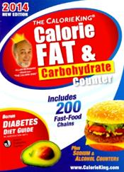 Calorie King: Calorie, Fat and Carbohydrate Counter 2014