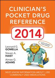 Clinician's Pocket Drug Reference 2014