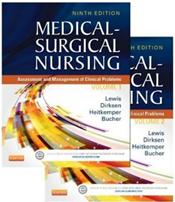 Medical-Surgical Nursing Package. Includes 2 Volume Textbook and Simulation Learning System Access Code Image