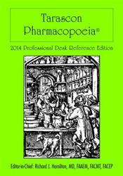 Tarascon Pharmacopoeia 2014. Professional Desk Reference Edition