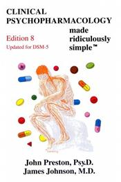 Clinical Psychopharmacology Made Ridiculously Simple. Updated for DSM-5 Cover Image