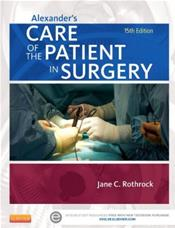 Alexanders Care of the Patient in Surgery. Text with Access Code Cover Image