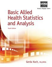 Basic Allied Health Statistics and Analysis Cover Image