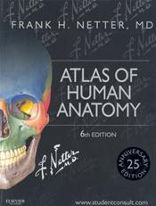 Atlas of Human Anatomy. 25th Anniversary Edition. Text with Access Code (Student Consult) Image