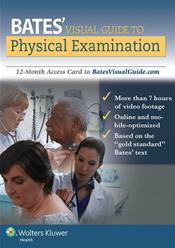 Bates Visual Guide to Physical Examination. Access Code for 12-month Access Cover Image