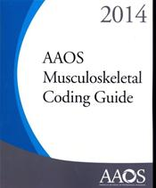 AAOS Musculoskeletal Coding Guide 2014 Cover Image