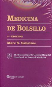 Medicina de Bolsillo (Pocket Medicine: Massachusetts General Hospital Handbook of Internal Medicine). Includes 6-Ring Binder Cover Image